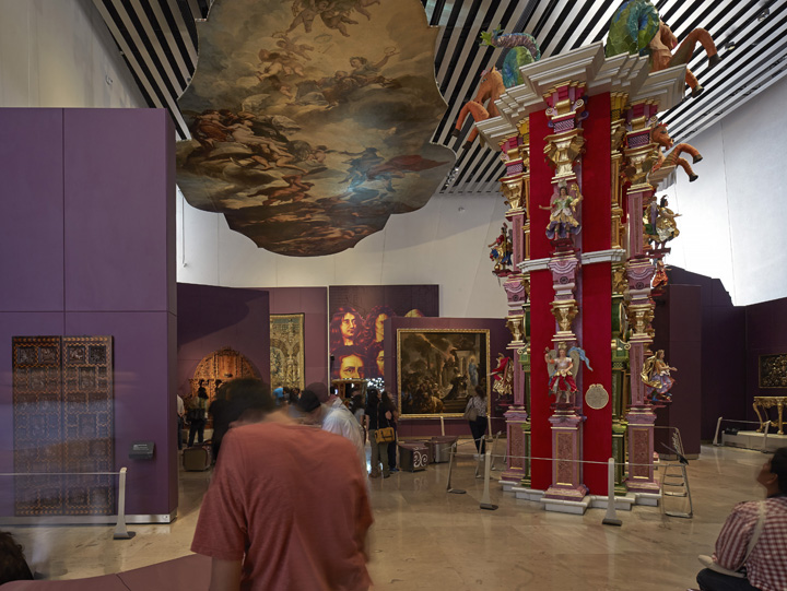 Interior del Museo Internacional del Barroco